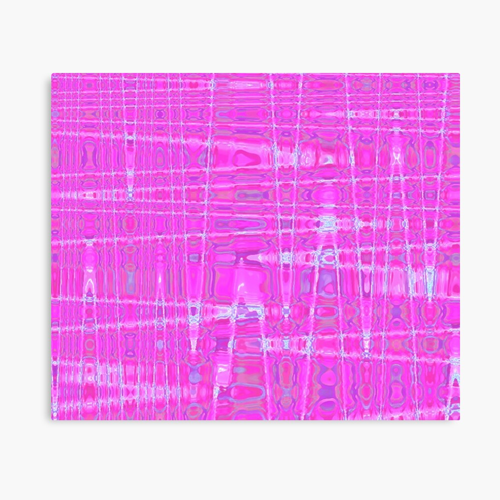 QUANTUM FIELDS ABSTRACT [1] PINK [1] Canvas Print