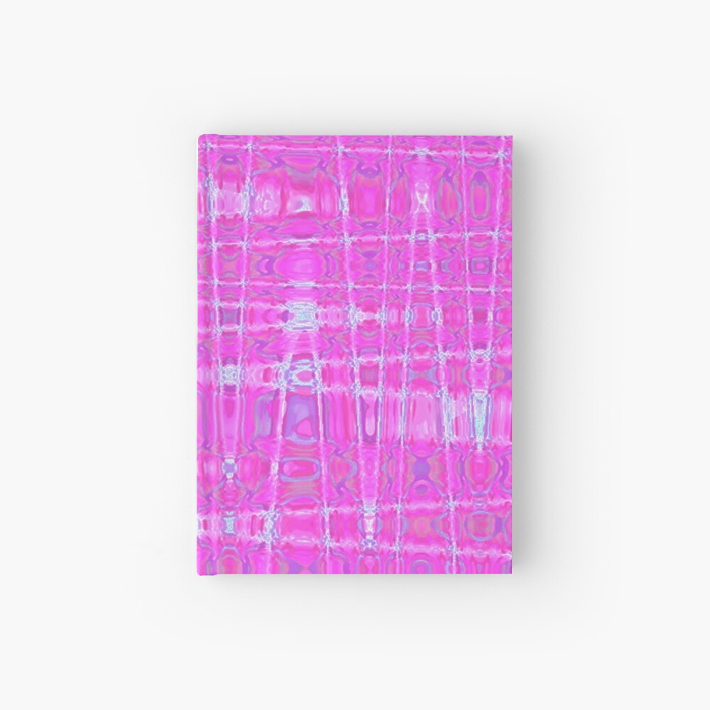 QUANTUM FIELDS ABSTRACT [1] PINK [1] Hardcover Journal