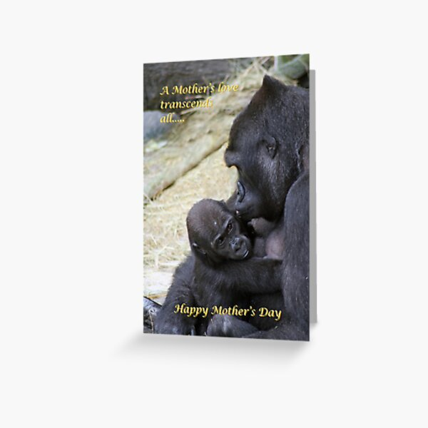 MOMMY LOVES ME Greeting Card