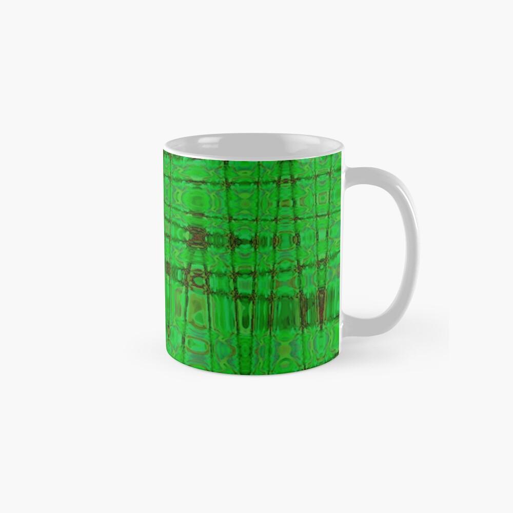 QUANTUM FIELDS ABSTRACT [1] GREEN [1] Classic Mug