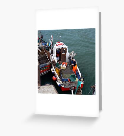 A Days Fishing Greeting Card