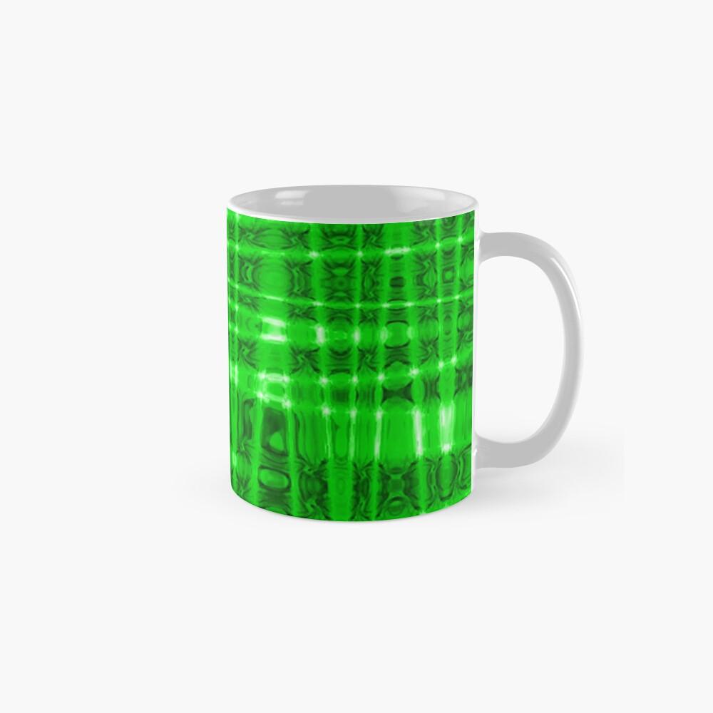 QUANTUM FIELDS ABSTRACT [1] GREEN [2] Classic Mug