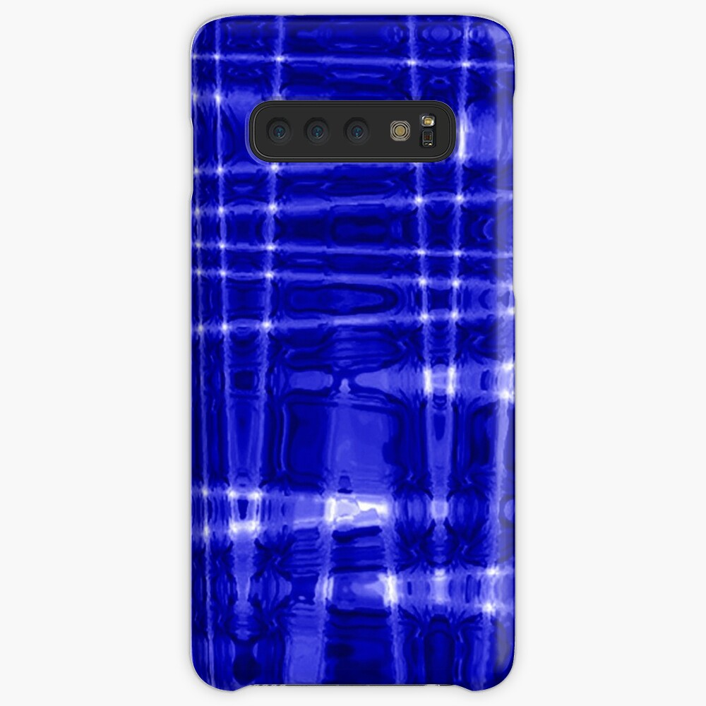 QUANTUM FIELDS ABSTRACT [1] BLUE [1] Samsung Galaxy Snap Case