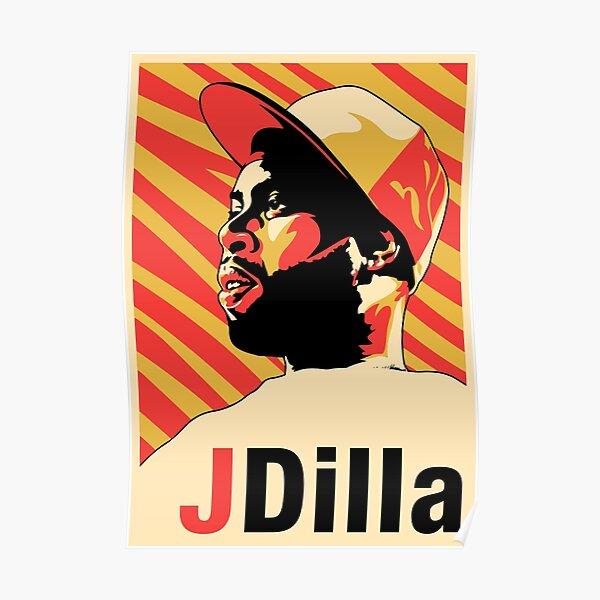 J Dilla Poster