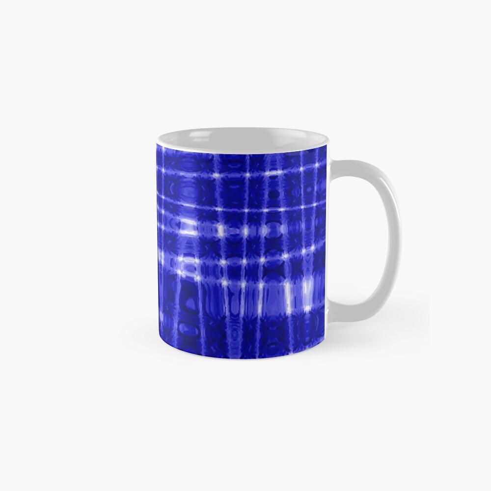 QUANTUM FIELDS ABSTRACT [1] BLUE [1] Classic Mug