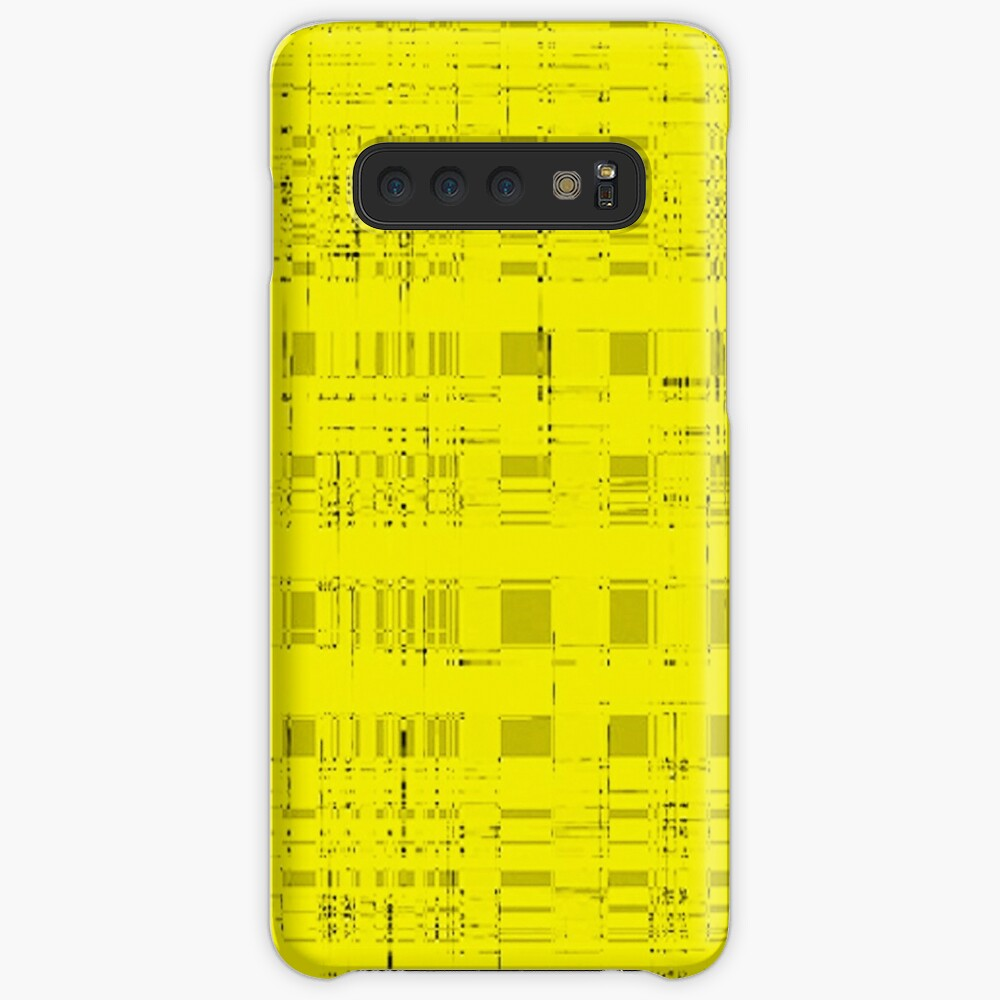 QUANTUM FIELDS ABSTRACT [2] YELLOW [1] Samsung Galaxy Snap Case