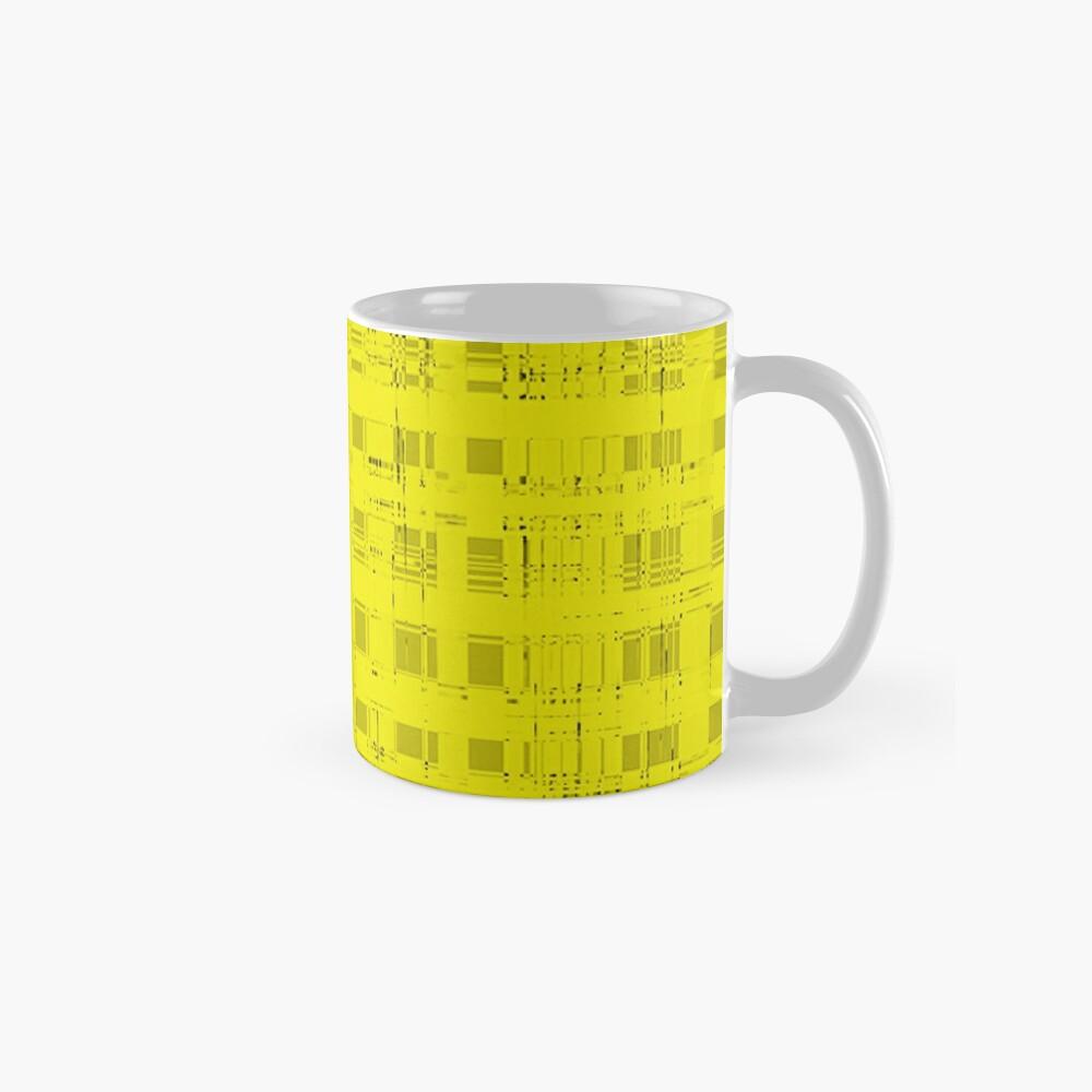 QUANTUM FIELDS ABSTRACT [2] YELLOW [1] Classic Mug