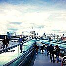 Blackfriars Bridge by Ushna Sardar