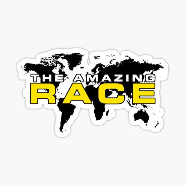 the amazing race Sticker