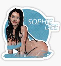 Sophie Dee merchandise Sticker