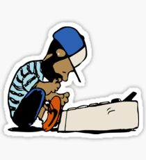 Dilla Dawg Sticker