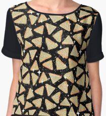 Cosmic Fairy Bread - Black - NEW Chiffon Top