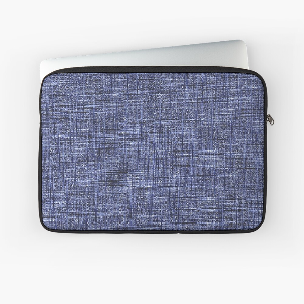 QUANTUM FIELDS ABSTRACT [4] GREY [1] Laptop Sleeve