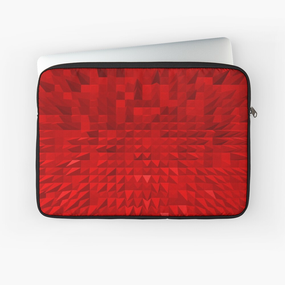 VISION OF THOUGHT ABSTRACT [1] RED [1] Laptop Sleeve