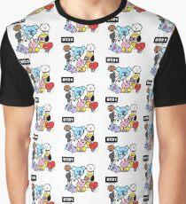 BTS - BT21 - ALL Graphic T-Shirt