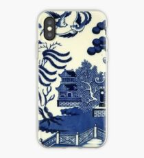 Antique willow ware iPhone Case