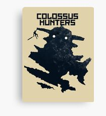 Colossus Hunters Canvas Print