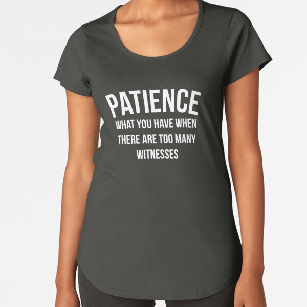 Patience Level Meter Funny Graphic Unisex T-Shirt Tee Joke Rude Sarcastic Gift