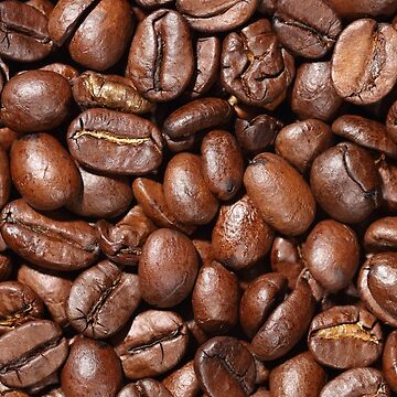 Delicious Raw coffee beans Background by artfx