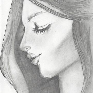 Serene Face by GuidedLinds