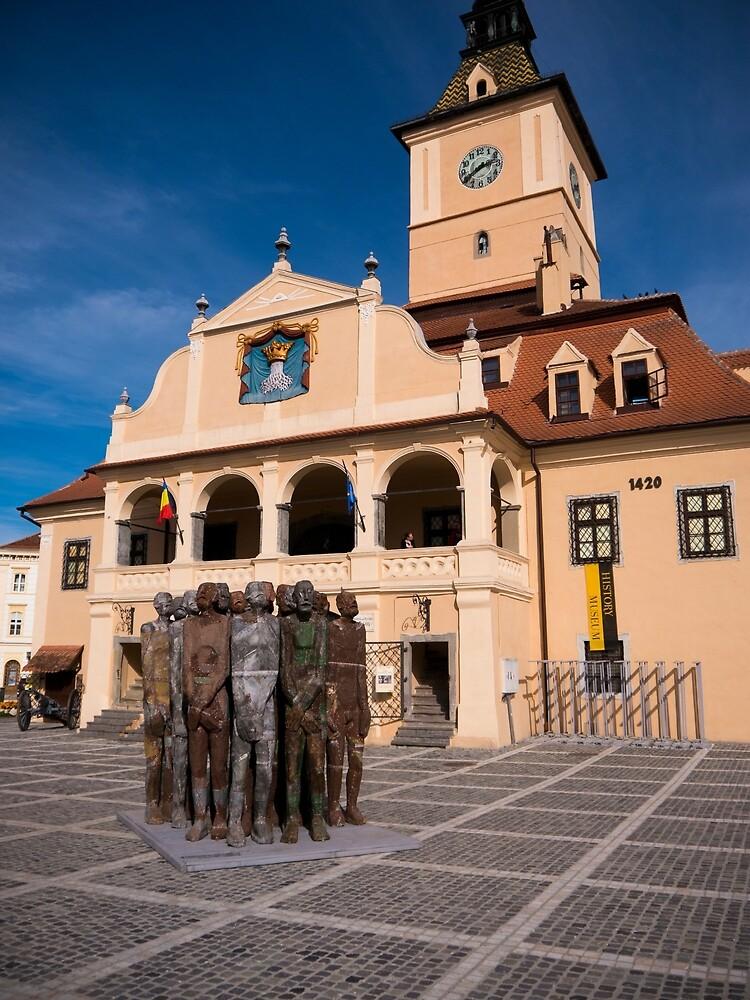 Brasov Town Hall by Rae Tucker