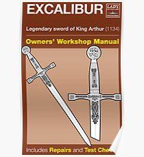 Owners Manual - Excalibur Poster