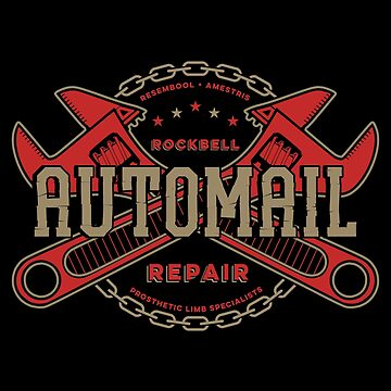 Rockbell Automail Repair (Upgrade) by 14Eight