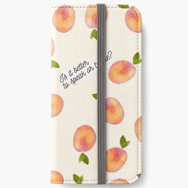 call me by your name - is it better to sleep or to die iPhone Wallet