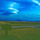 Clouds over Mt. Shasta by Priscilla Turner