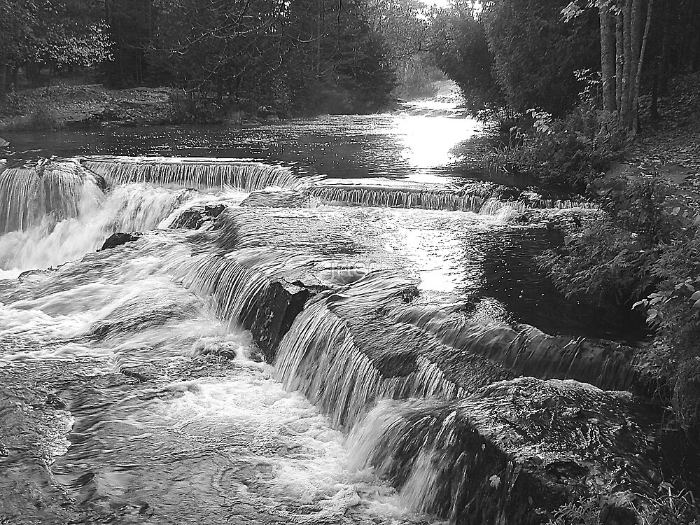 Ontonagon River by jrier