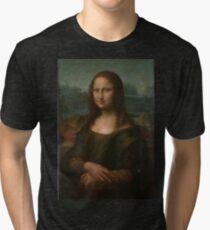 Mona Lisa Leonardo da Vinci Tri-blend T-Shirt