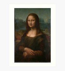 Mona Lisa Leonardo da Vinci Art Print