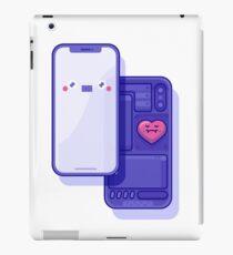 CUTE iPhoneX inside iPad Case/Skin