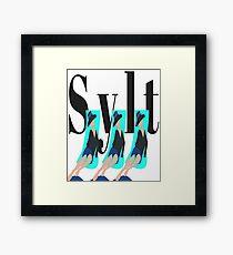 Sylt island Framed Print