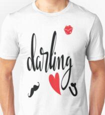 Darling I love you ♥️♥️♥️ Unisex T-Shirt