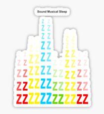 Sound Musical Sleep Sticker