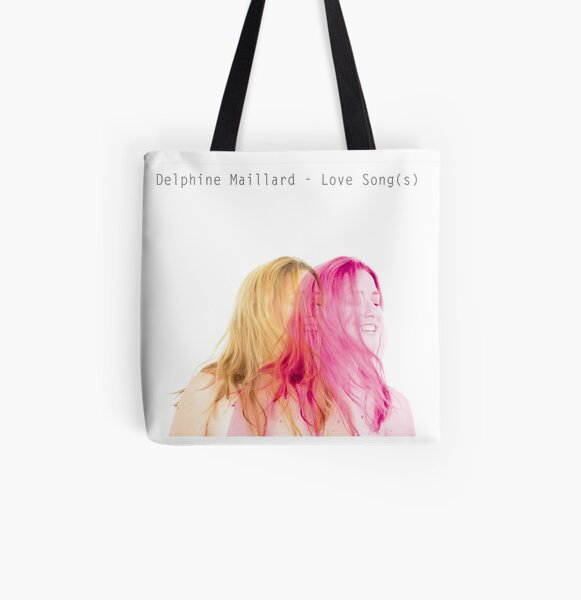 Delphine Maillard - Love Song(s) All Over Print Tote Bag