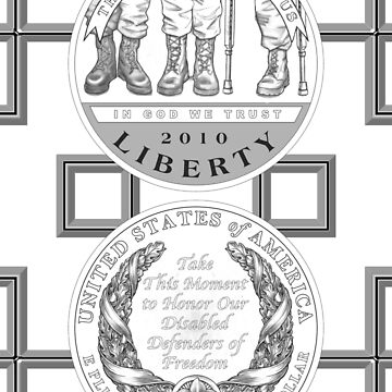 Coin1_American Veterans Disabled by Miraart