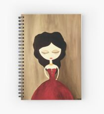 red princess Spiral Notebook