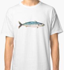 Watercolor mackerel Classic T-Shirt