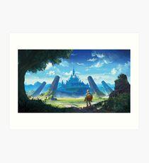 The Legend of Zelda: Breath of the Wild  Art Print