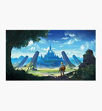 The Legend of Zelda: Breath of the Wild  Photographic Print