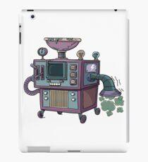 old crazy machine iPad Case/Skin