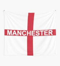Manchester supporters banner Wall Tapestry