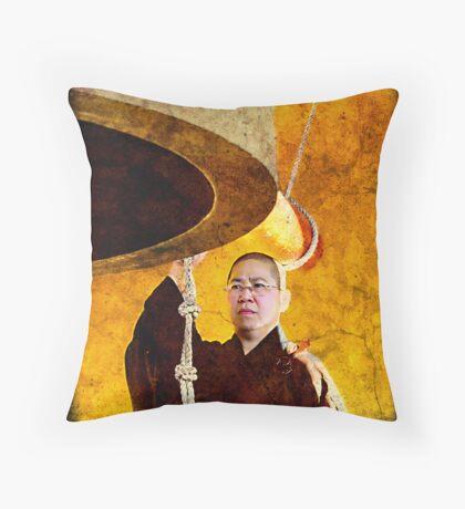 Nan Tien Buddhist Temple - Calling to Prayer Throw Pillow