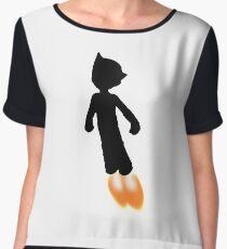 Astro Boy Silhouette Chiffon Top