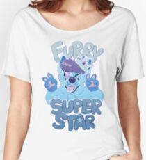 FURRY SUPERSTAR - color Women's Relaxed Fit T-Shirt
