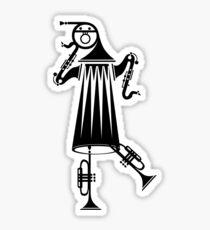 Dancing Sounds Sticker
