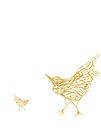 Gold Birds by KazM