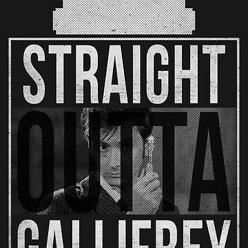 Straight Outta Gallifrey - 10th Doctor V. by gelfmattman